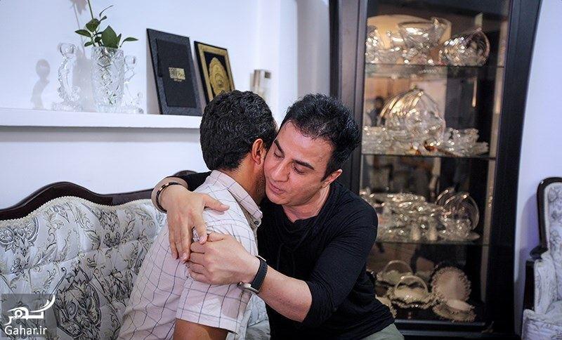 012247 Gahar ir عکس/ دیدار عمو پورنگ با خانواده بنیتا