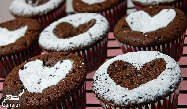 240631 Gahar ir آموزش پخت کاپ کیک شکلاتی