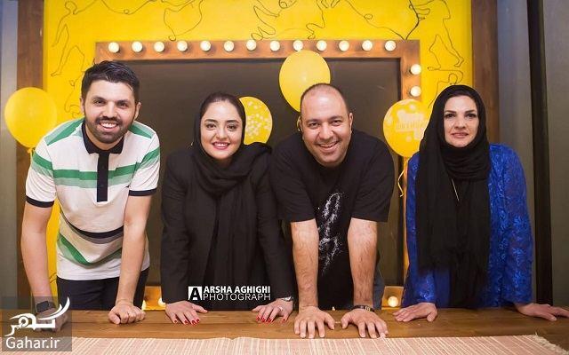 362833 Gahar ir عکس های جدید و متفاوت نرگس محمدی و همسرش در تولد امید معلم