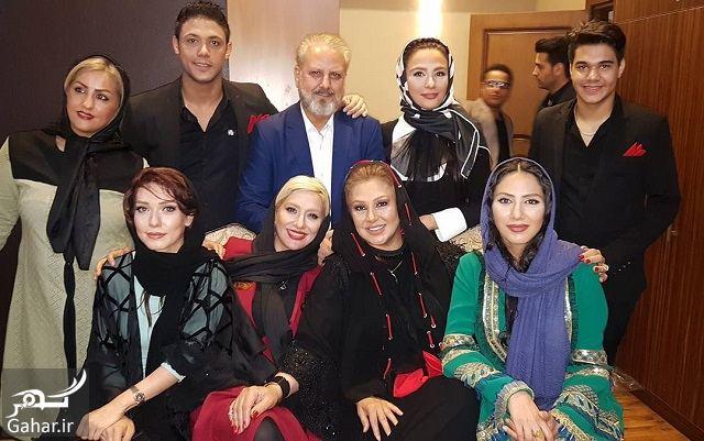 495299 Gahar ir عکس/ نسرین مقانلو به همراه پسرانش در هفدهمین جشن حافظ