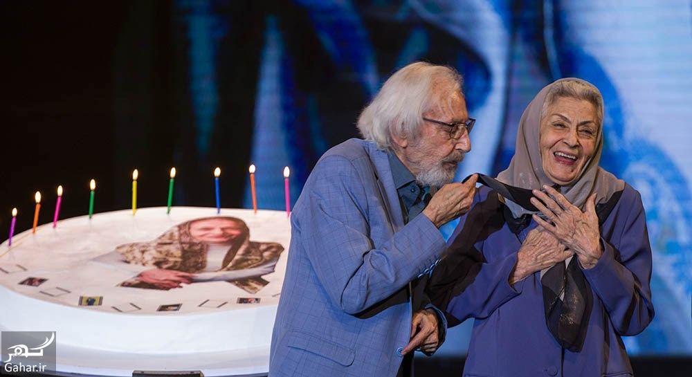 502123 Gahar ir عکس های دیدنی از تولد 90 سالگی بانو ژاله علو در اختتامیه فیلم شهر