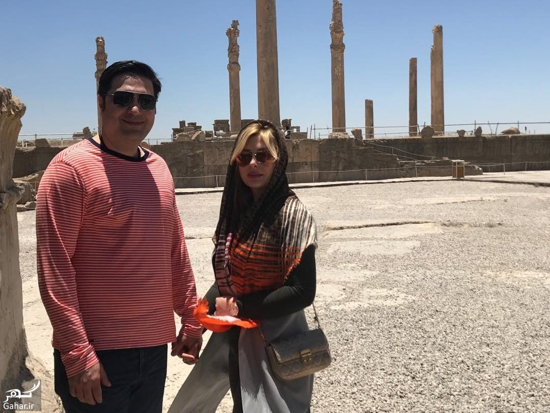 653120 Gahar ir عکس جدید و متفاوت نیوشا ضیغمی و همسرش در شیراز