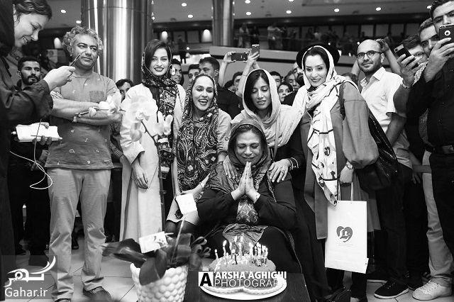709297 Gahar ir تصاویر/ تولد گوهر خیراندیش با حضور هنرمندان در اکران مردمی «فصل نرگس»