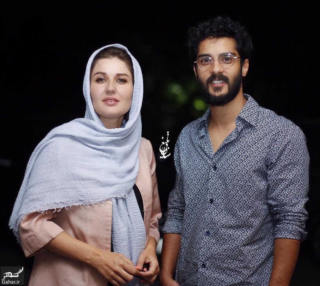 720782 Gahar ir عکس های جدید گلوریا هاردی و همسرش ساعد سهیلی در مراسم اکران پل خواب