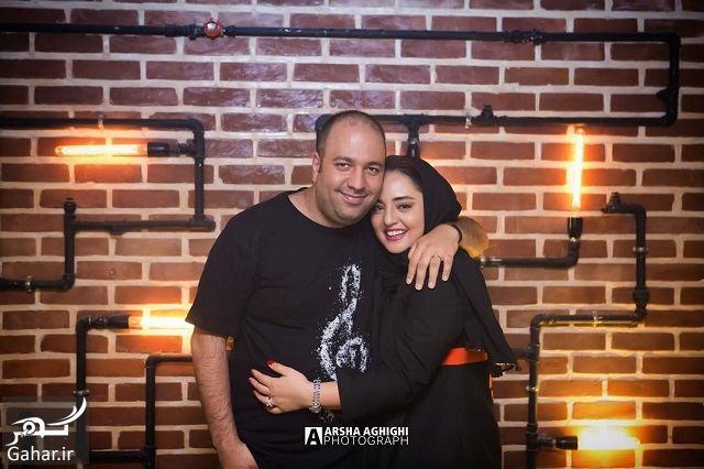 884815 Gahar ir عکس های جدید و متفاوت نرگس محمدی و همسرش در تولد امید معلم