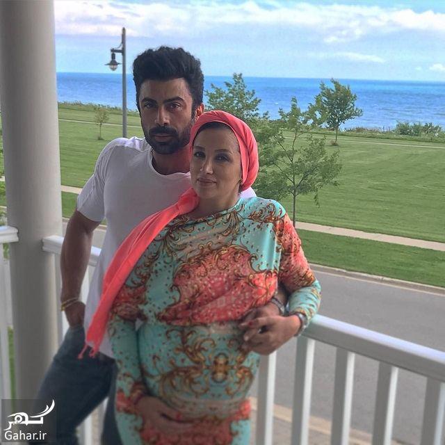 960730 Gahar ir روناک یونسی و همسرش در انتظار فرزند دومشان در کانادا + عکس متفاوت