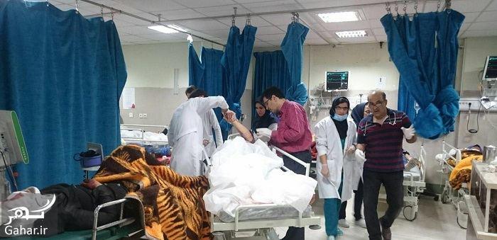 088349 Gahar ir 45 کشته و زخمی در حادثه واژگونی اتوبوس دانش آموزان دختر