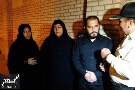 091658 Gahar ir عكسهای اعدام قاتل آتنا اصلانی