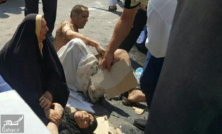 121208 Gahar ir علت انفجار مرگبار مقابل حرم حضرت معصومه (س) + تصاویر