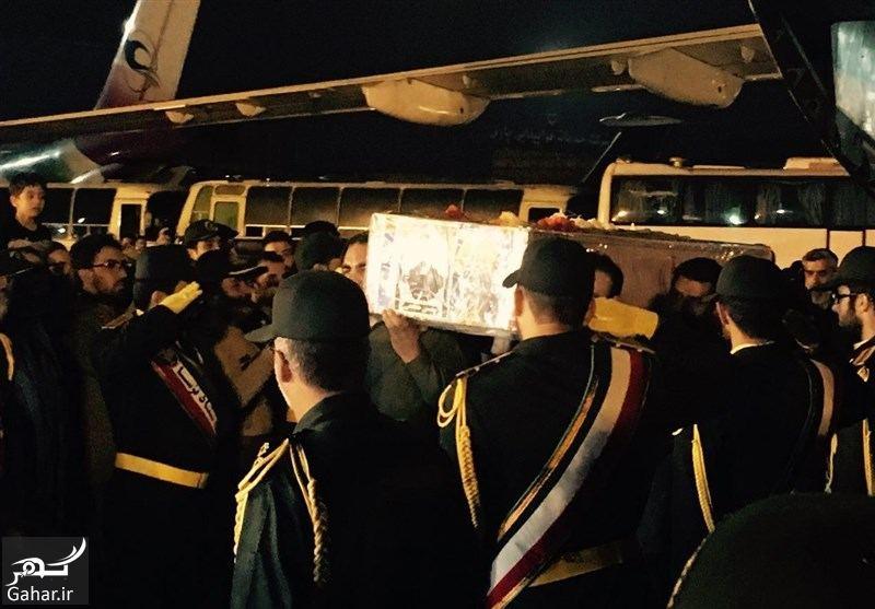 210695 Gahar ir تصاویر / ورود پیکر مطهر شهید حججی به فرودگاه تهران