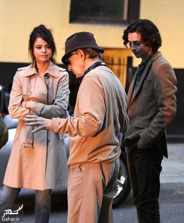 257381 Gahar ir نقش آفرینی سلنا گومز در فیلم وودی آلن / عکس