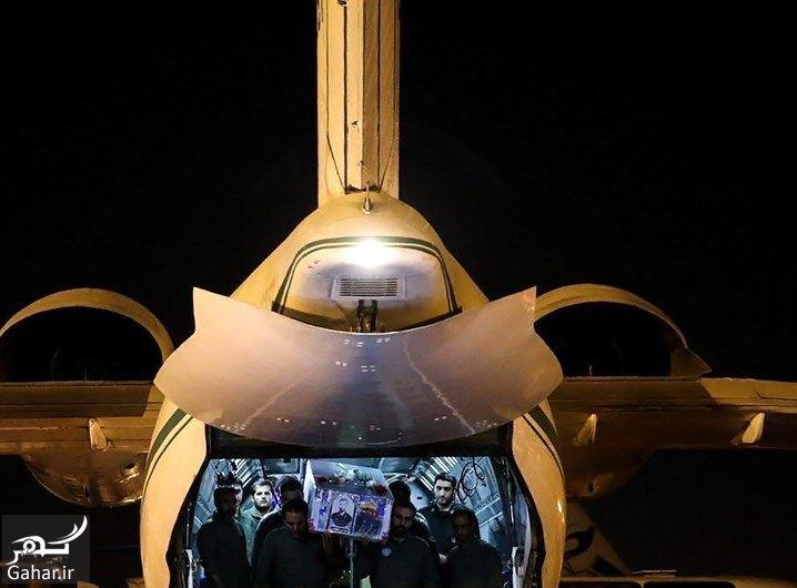 320350 Gahar ir تصاویر / ورود پیکر مطهر شهید حججی به فرودگاه تهران