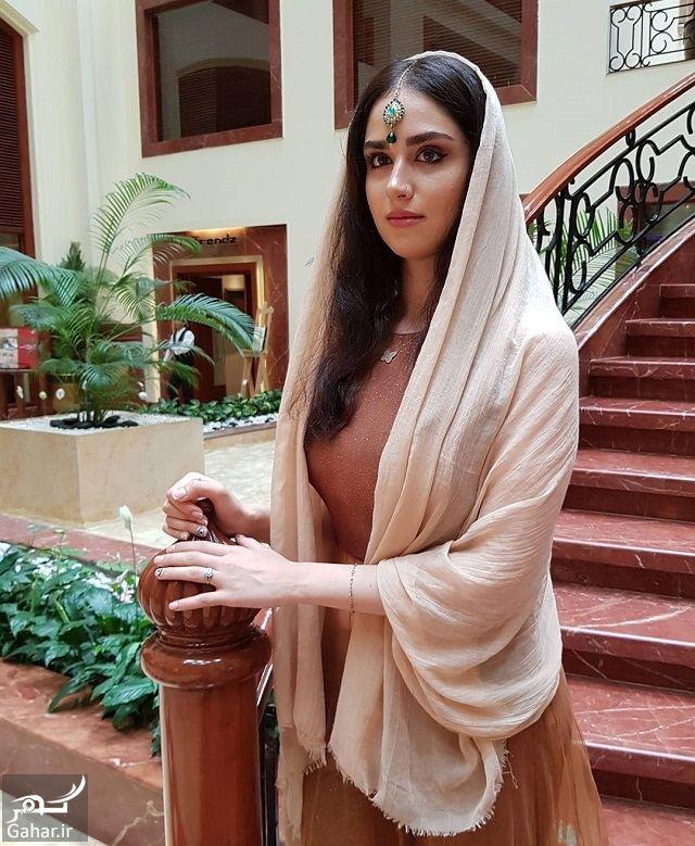 444031 Gahar ir تصاویر/ ظاهر جدید و زیبای هانیه غلامی با لباس هندی در بمبئی