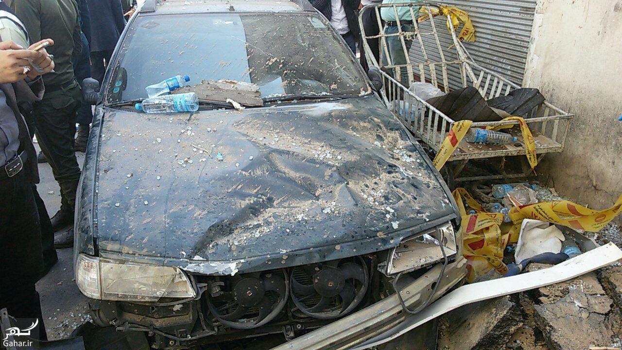 607135 Gahar ir علت انفجار مرگبار مقابل حرم حضرت معصومه (س) + تصاویر