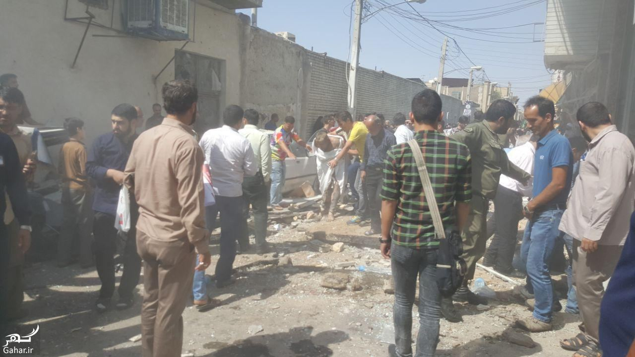 643933 Gahar ir علت انفجار مرگبار مقابل حرم حضرت معصومه (س) + تصاویر