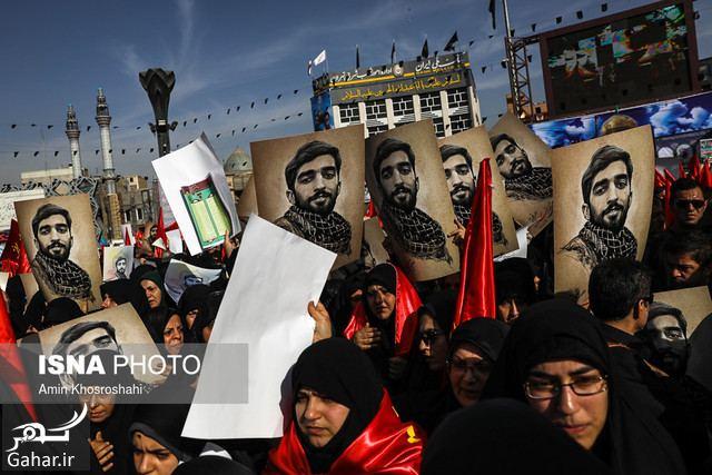 674013 Gahar ir تصاویر / مراسم تشییع پیکر مطهر شهید محسن حججی در تهران