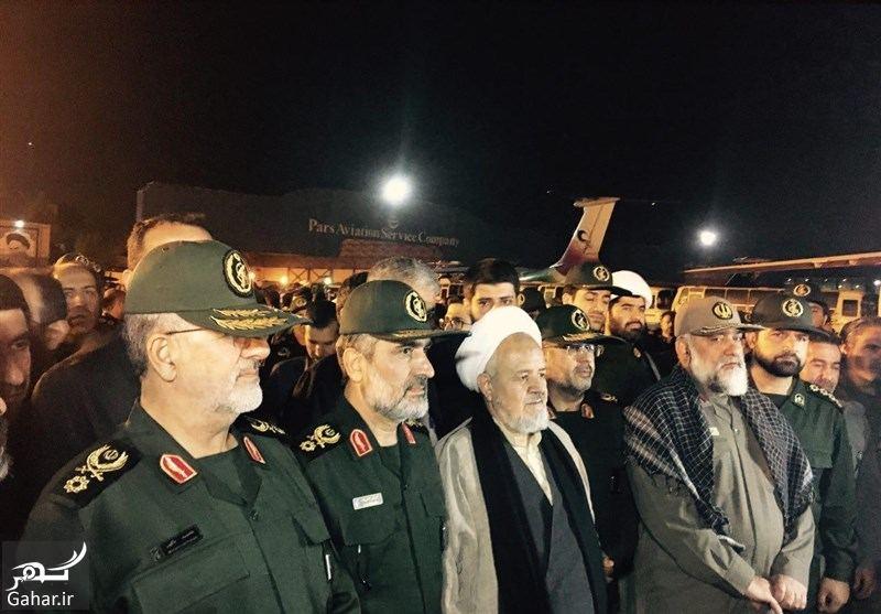760451 Gahar ir تصاویر / ورود پیکر مطهر شهید حججی به فرودگاه تهران