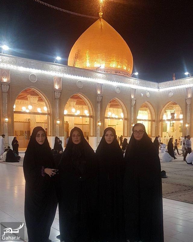 959448 Gahar ir عکس بازیگران زن سینما در مسجد کوفه