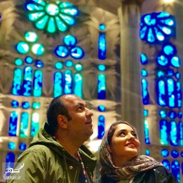997160 Gahar ir 624x624 تصاویر / تفریحات شخصی نرگس محمدی و همسرش در اسپانیا