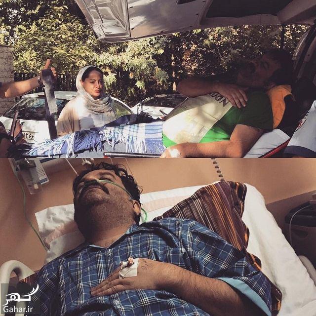 179563 Gahar ir عکس / بستری شدن مهراب قاسم خانی به دلیل تیزر تبلیغاتی بهنوش بختیاری!