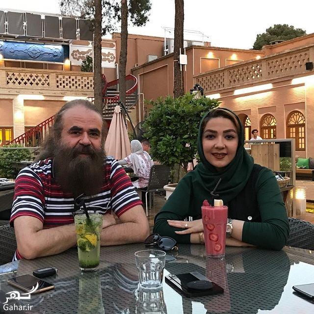 186209 Gahar ir عکس های دیدنی سارا صوفیانی و همسرش با 28 سال اختلاف سنی