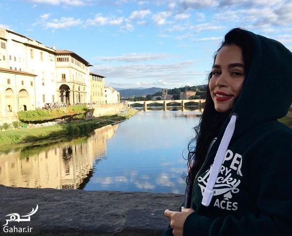 197488 Gahar ir عکس های دیدنی ملیکا شریفی نیا با تیپ متفاوت در پاریس!