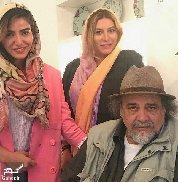 299813 Gahar ir عکس محمدرضا شریفی نیا در رستوران خانم بازیگر