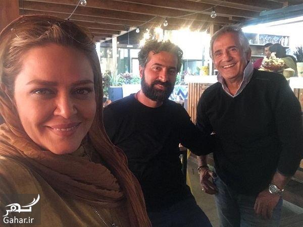 325129 Gahar ir عکس/ جمعه گردی بهاره رهنما و همسرش در کافه مجید مظفری