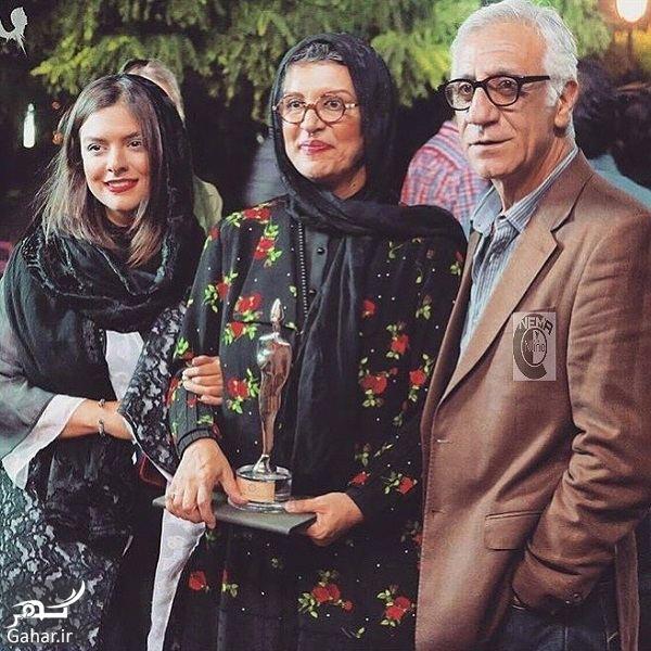 411018 Gahar ir عکس مسعود رایگان و همسرش رویا تیموریان و دخترشان دنیا مدنی