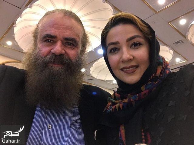 420535 Gahar ir عکس های دیدنی سارا صوفیانی و همسرش با 28 سال اختلاف سنی