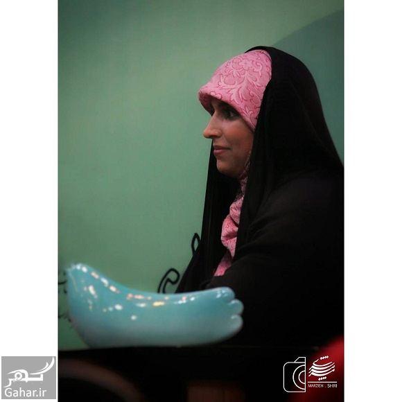 463542 Gahar ir عکسهای مژده لواسانی در جشن امضا کتابش خون انار گردن پاییز است