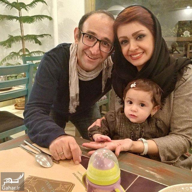 692590 Gahar ir عکس های سالگرد ازدواج هدایت هاشمی در کنار همسر جدید و فرزندش