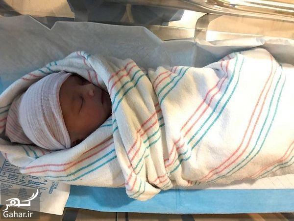 695904 Gahar ir پسر بنیامین بهادری و شایلی در آمریکا به دنیا آمد + عکس پسر بنیامین