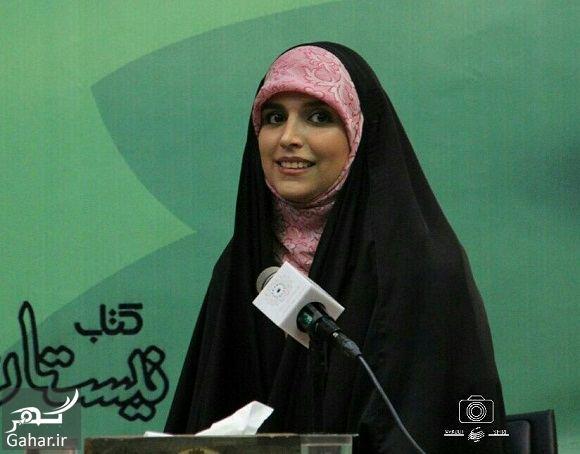 715684 Gahar ir عکسهای مژده لواسانی در جشن امضا کتابش خون انار گردن پاییز است