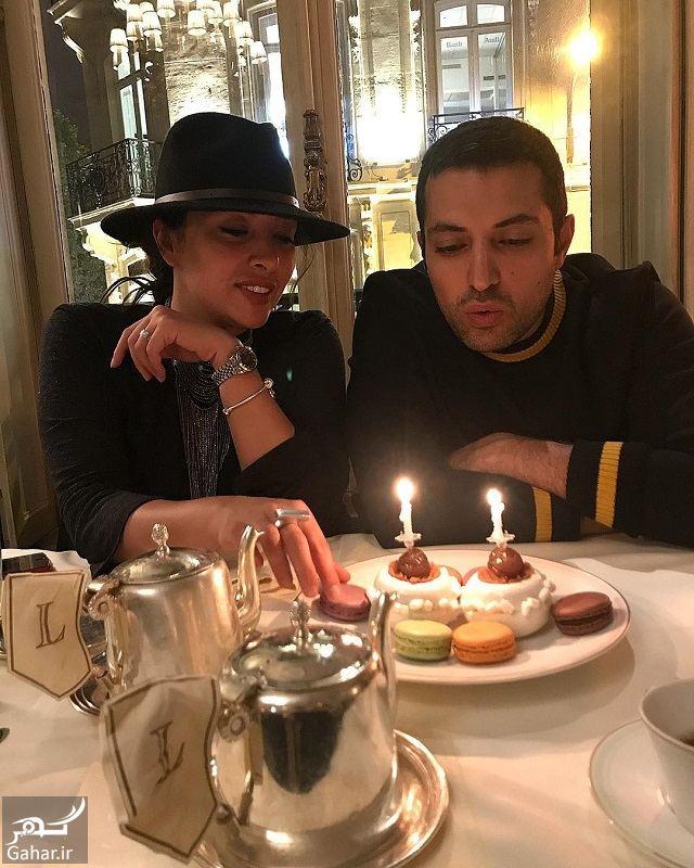 726745 Gahar ir جشن تولد دونفره اشکان خطیبی و همسرش آناهیتا درگاهی در فرانسه