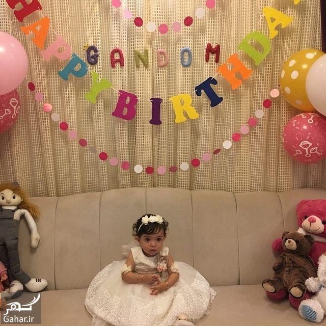 762170 Gahar ir تصاویر / جشن تولد یک سالگی دختر آزاده نامداری