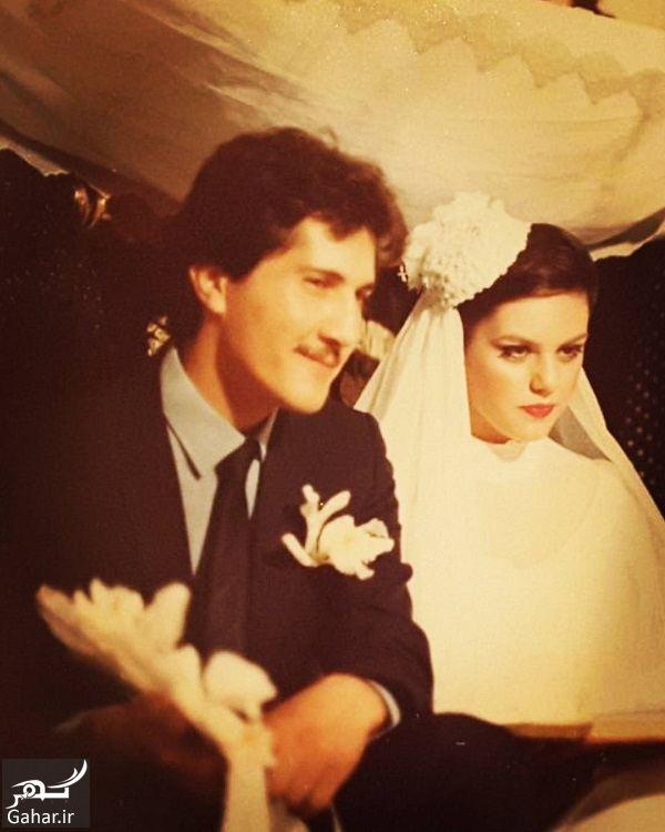848218 Gahar ir عکس های دیدنی از عروسی افسانه چهره آزاد و همسرش در سال 61
