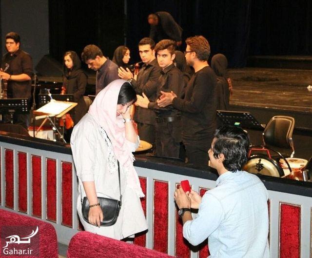946032 Gahar ir خواستگاری یک تماشاگر از دختر مورد علاقه اش در تالار وحدت / عکس