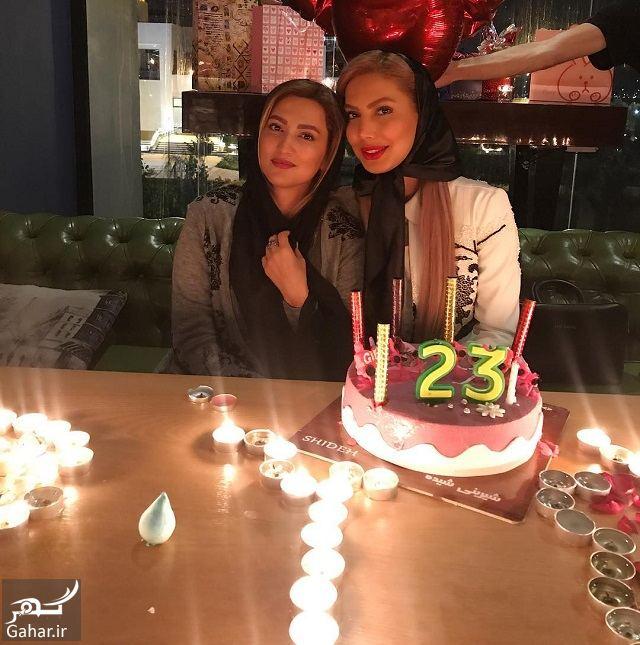 952085 Gahar ir عکسی جذاب از سمیرا حسینی در جشن تولد خواهرش