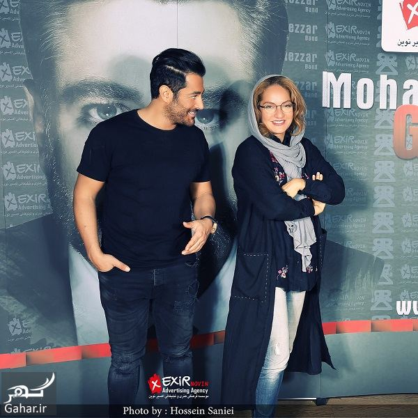 959675 Gahar ir عکس های جدید مهناز افشار در کنار محمدرضا گلزار با ژست های متفاوت