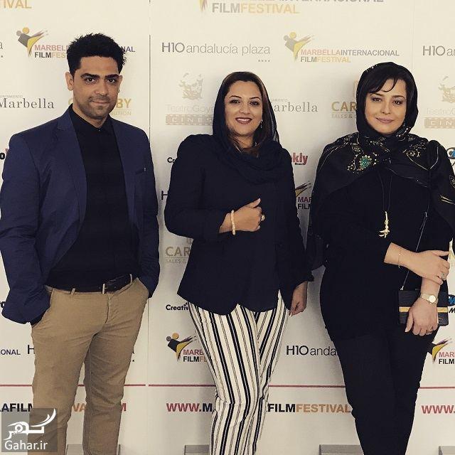 997540 Gahar ir تصاویر / تیپ عجیب و متفاوت مهراوه شریفی نیا در جشنواره فیلم ماربیا اسپانیا
