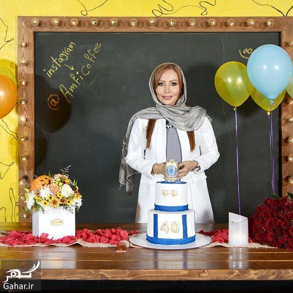 087543 Gahar ir عکسهای تولد 40 سالگی پرستو صالحی با مهمانان شاخص در آمفی کافه