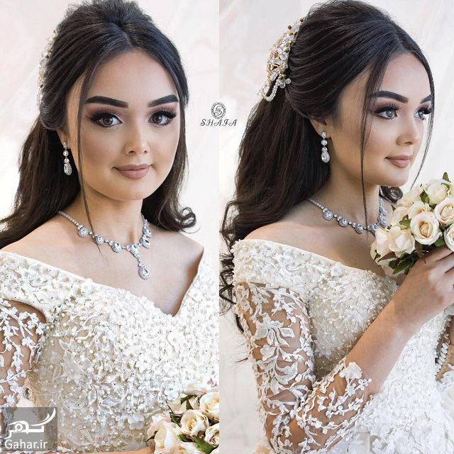 091828 Gahar ir جدیدترین مدل های زیبای شینیون موی بلند عروس