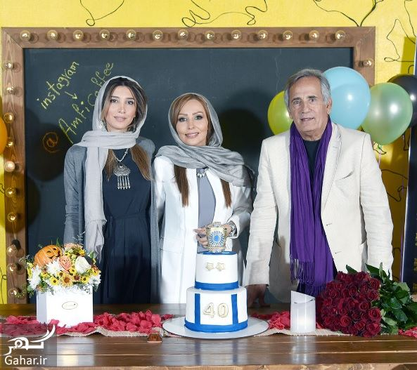 123251 Gahar ir عکسهای تولد 40 سالگی پرستو صالحی با مهمانان شاخص در آمفی کافه