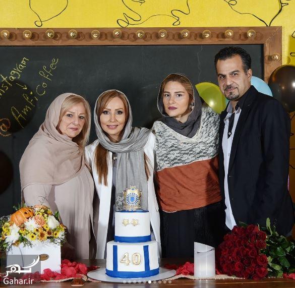 137631 Gahar ir عکسهای تولد 40 سالگی پرستو صالحی با مهمانان شاخص در آمفی کافه