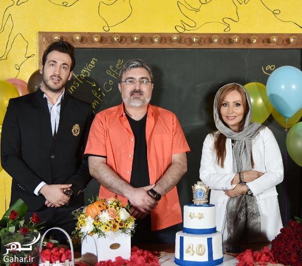 233188 Gahar ir عکسهای تولد 40 سالگی پرستو صالحی با مهمانان شاخص در آمفی کافه