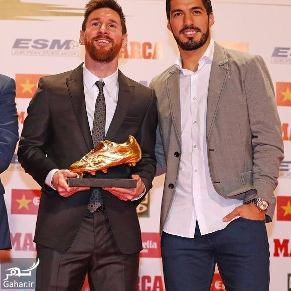 239107 Gahar ir عکسهای لیونل مسی پس از دریافت کفش طلا