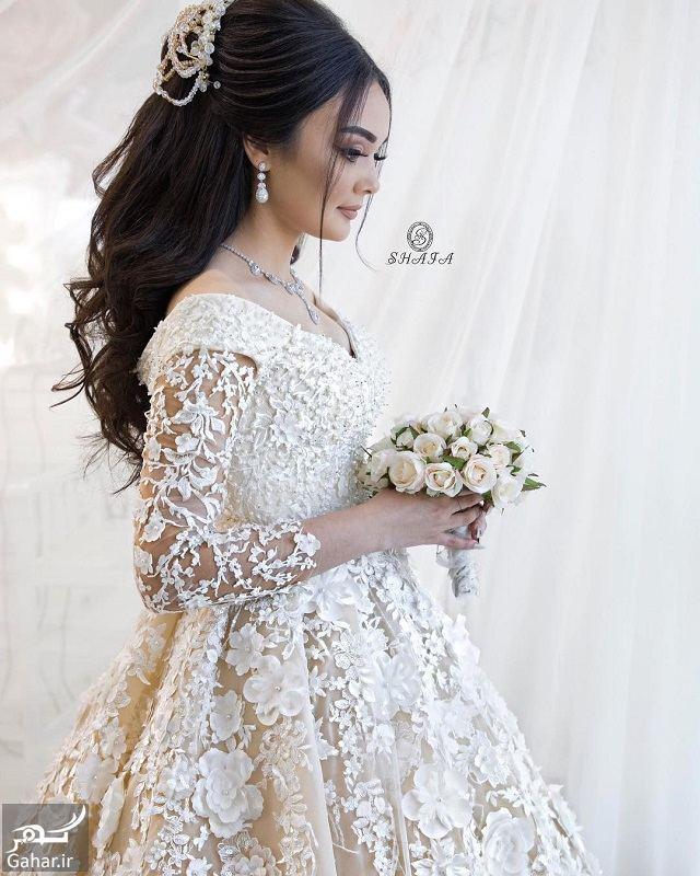 247417 Gahar ir جدیدترین مدل های زیبای شینیون موی بلند عروس