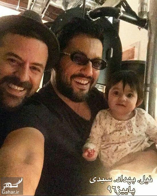 533468 Gahar ir اولین عکس منتشر شده از هومن سیدی و همسرش و فرزندش!
