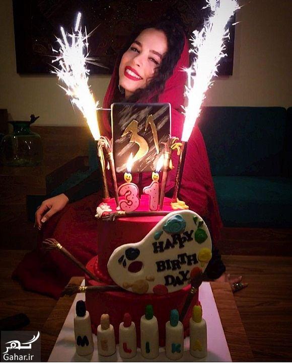 579642 Gahar ir عکس جشن تولد ملیکا شریفی نیا 31 ساله!